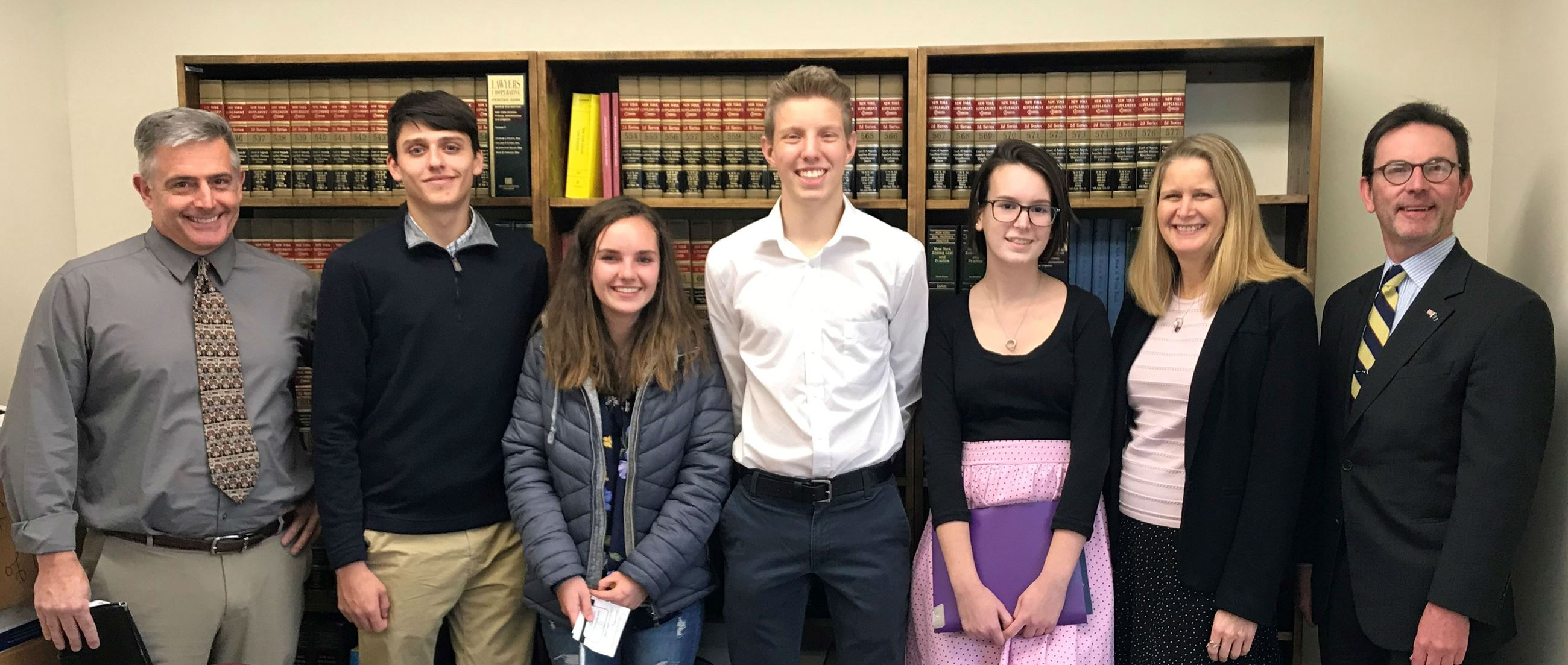 High School Students Visit the County Attorneys Office